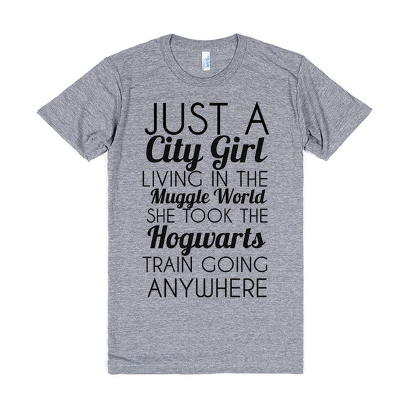 Just A City Girl Living In The Muggle World