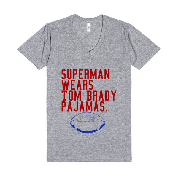 Superman Wears Tom Brady Pajamas
