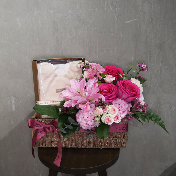 Flower Basket for New Born Baby
