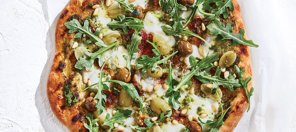 Green & Grilled Pizza