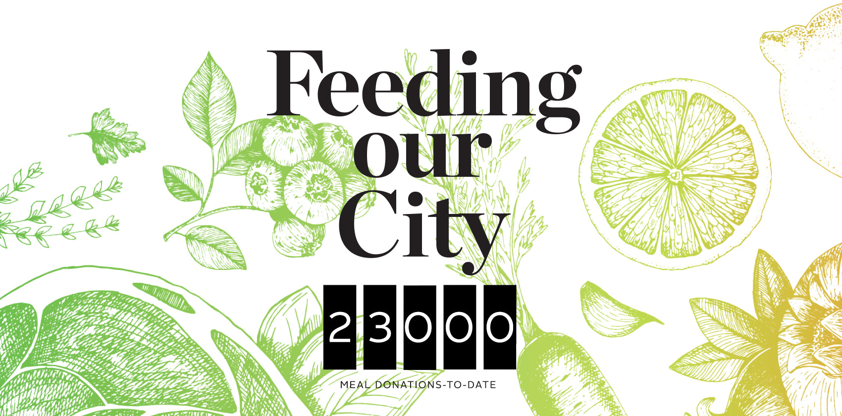 Feeding Our City - 24,000 meals