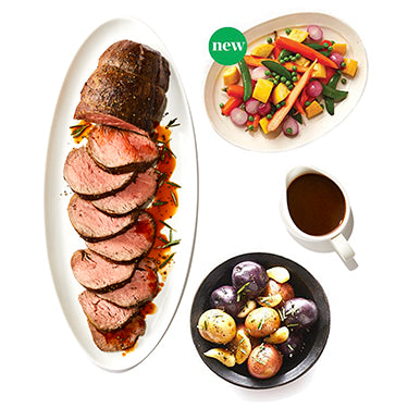 Roasted Beef Tenderloin Package