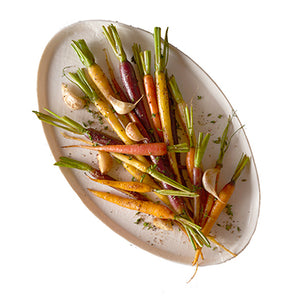 Roasted Heirloom Carrots-no