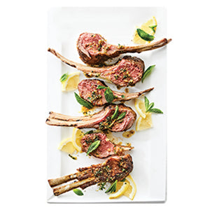 Pommery Crusted Rack of Lamb