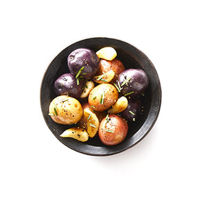 Tri-Colour Roasted Potatoes