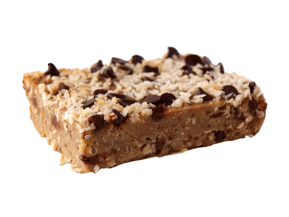 Shockingly Healthy - Coconut Chocolate Chip Blondie
