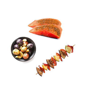 Ready-To-Grill Salmon Meal (RAW)