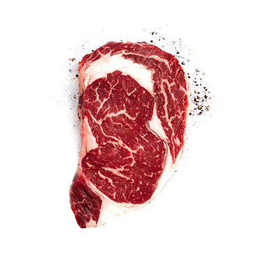 (RAW) Pusateri's dry aged rib-eye steak