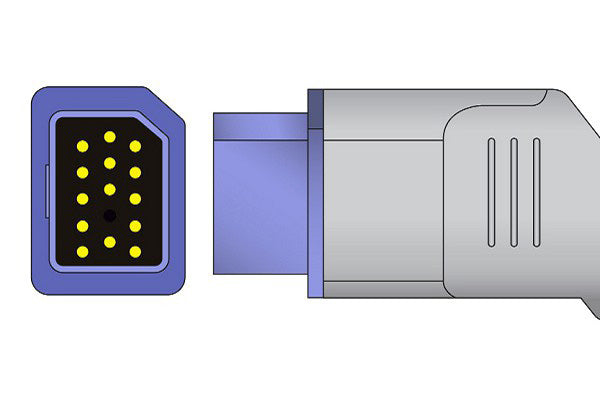 Nihon Kohden Compatible Direct-Connect SpO2 Sensor