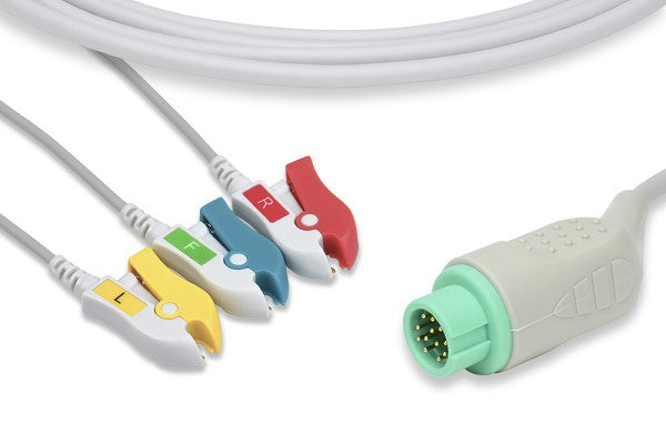 Sinohero Compatible Direct-Connect ECG Cable
