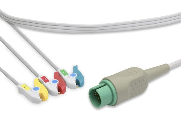 Spacelabs Compatible Disposable Direct-Connect ECG Cable