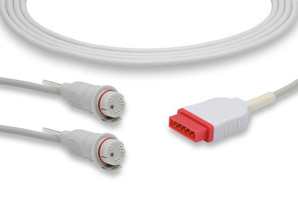 GE Healthcare > Marquette Compatible IBP Adapter Cable