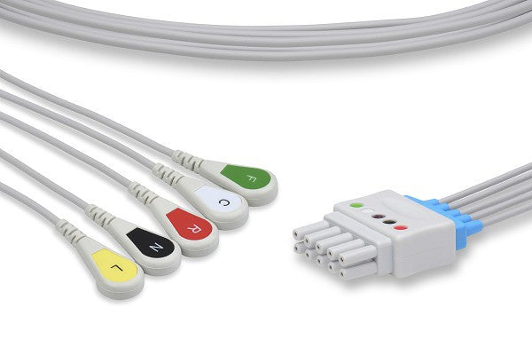 Spacelabs Compatible ECG Leadwire