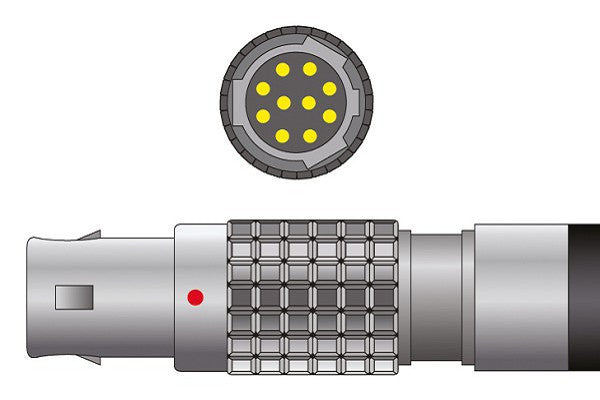 Mennen Compatible Direct-Connect SpO2 Sensor