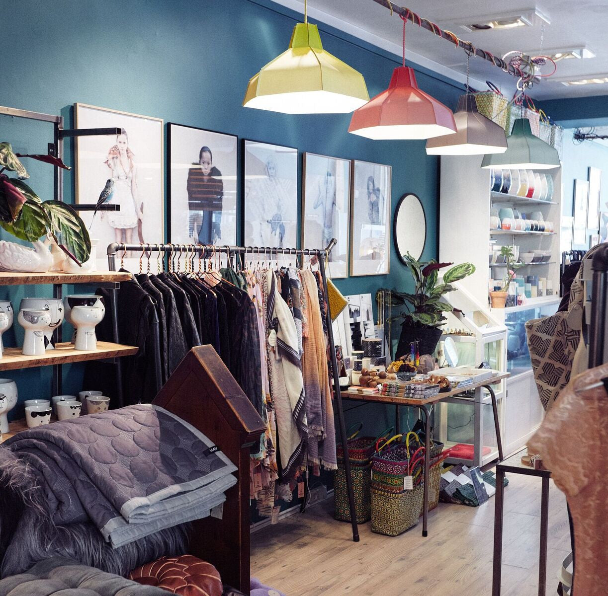 Amazing ... Store Interior With RackBuddy Cassidy Urban Living CPH  Interior With  RackBuddy Clothes Racks   Industrial Design ...