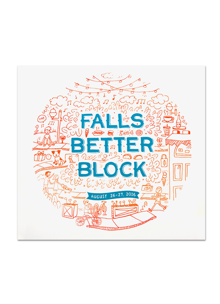 Falls Better Block Prints