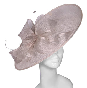 champagne wedding hat
