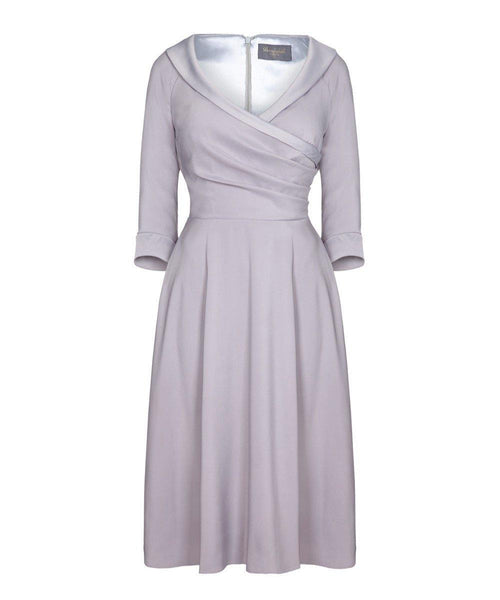 mother of the bride dress wedding guest dress with sleeves
