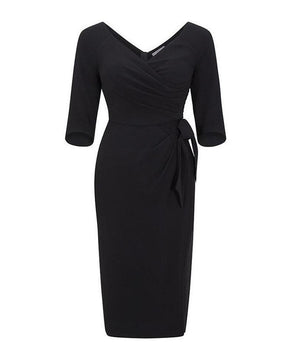 Bombshell dress Bombshell London Perfect LBD Little Black Dress Day to Night Workwear Interview Wedding Occasion Event Cocktail | Mother of the Bride Wedding Guest Dress
