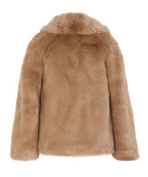 'Blonde' Made in UK Bombshell Faux Fur Coat