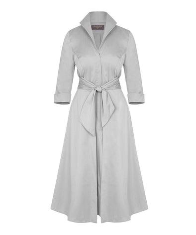 Silver Birch Grace Tie Front Shirt Dress