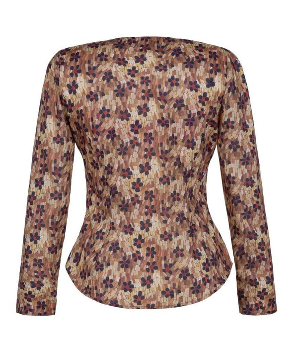 Liberty print Daisy Roar Shirt back