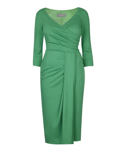 Stretch Luxe 'Emerald' Bombshell Dress