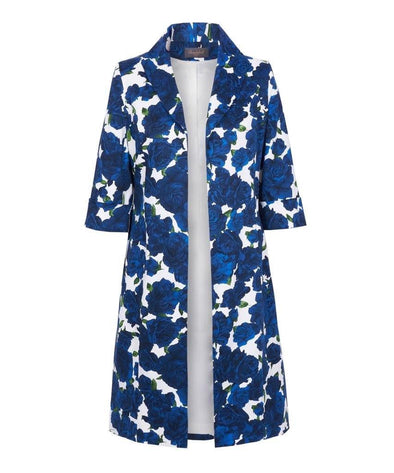 Navy Rose Occaional Coat