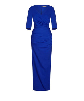 Bombshell dress Bombshell London Evening Gown Dramatic Blue Cobalt Wedding Summer Ball
