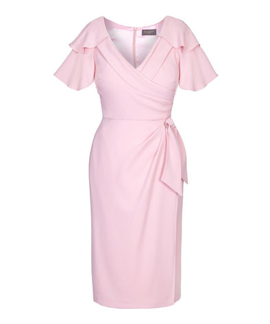 Powder Pink Bombshell Gatsby Dress