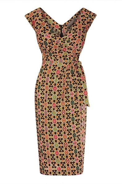Liberty Tana Lawn Fab Bombshell 'Confident' Cap Sleeve Dress