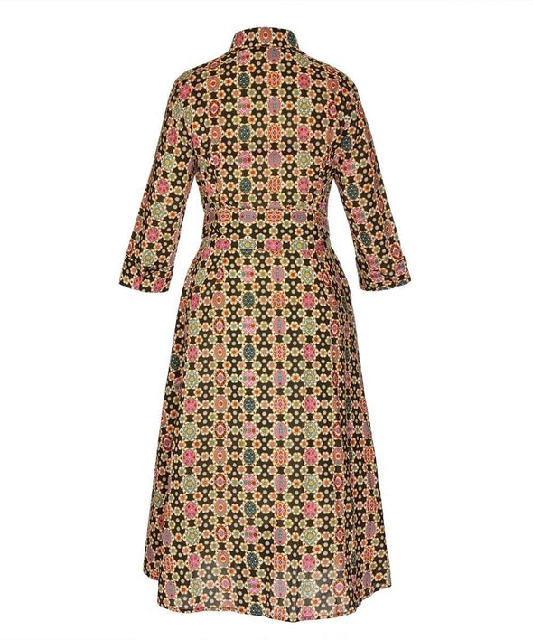 Limited Edition - Liberty Fab Tana Lawn Bombshell 'For The Love of Pockets' Dress