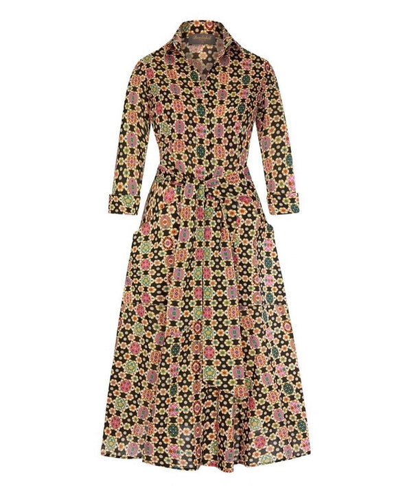 'For The Love of Pockets' Liberty Tana Lawn Cotton in 'Fab' Print Dress