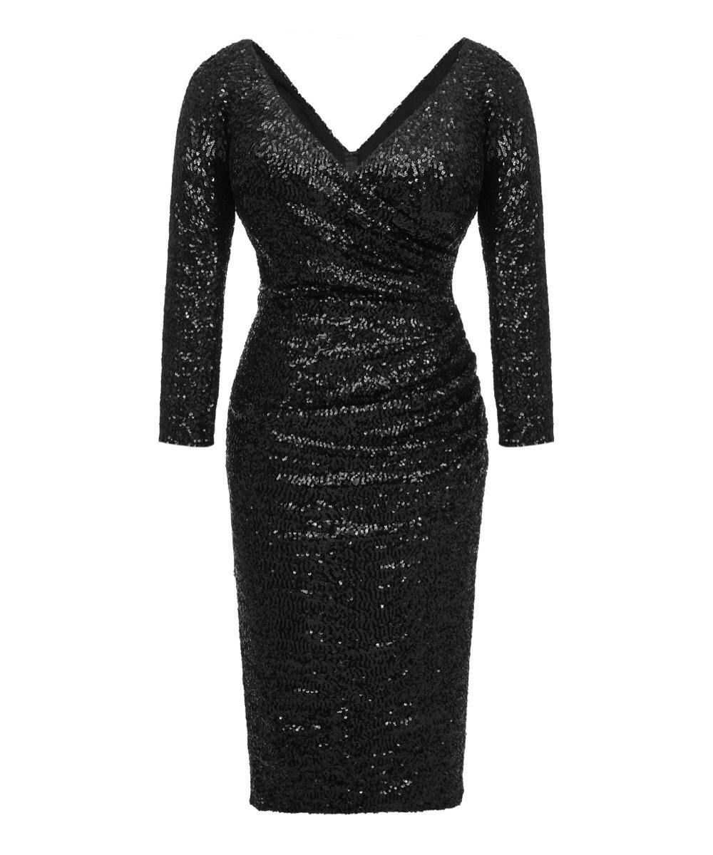 171c10f3970 Long Black Sequin Evening Dress Uk - Gomes Weine AG