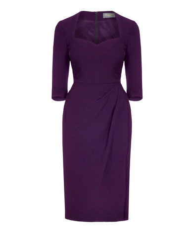 Loganberry 3/4 Sleeve Dress
