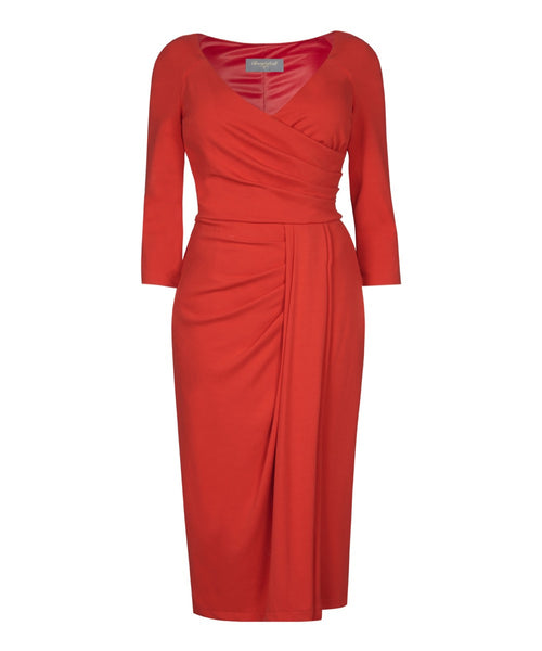 Stretch Luxe 'Bright Red' Bombshell Dress