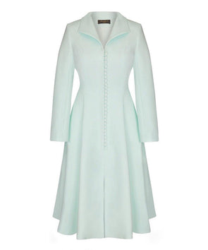Mint Bombshell Coat Dress
