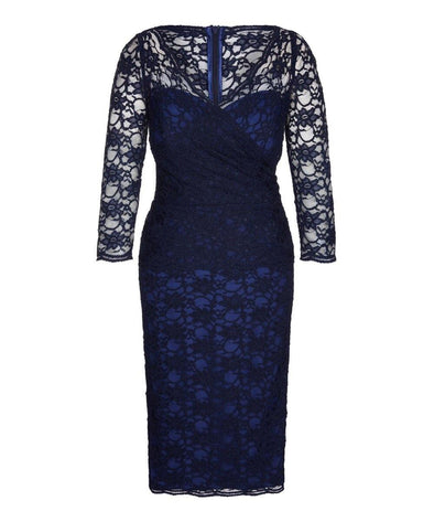 Bombshell dress Bombshell London Navy Lace Dress Wedding Mother of the Bride