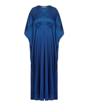 Kaftan Navy Blue, Light summer cover up, event, evening, wedding, holiday, cruise, cool by the pool, event, wedding