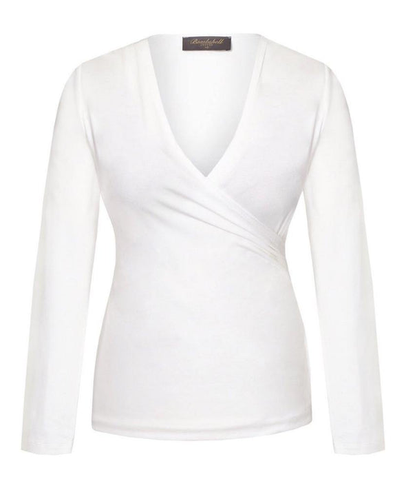 Ivory Top, stretchy comfortable everyday wear, machine washable, perfect with the Cotswolds skirt