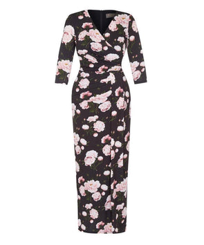 Maxi Floral Dress for events, weddings, holidays, strolls in the park, evening