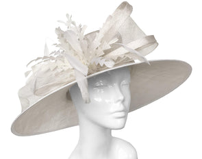 Bombshell RSVP Hat Light Cream