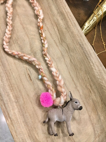 💕Burro Necklace