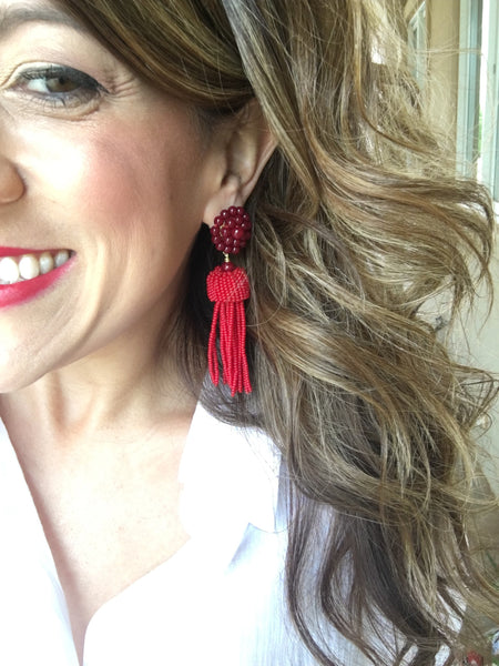 Southern Charm Tassel Earrings