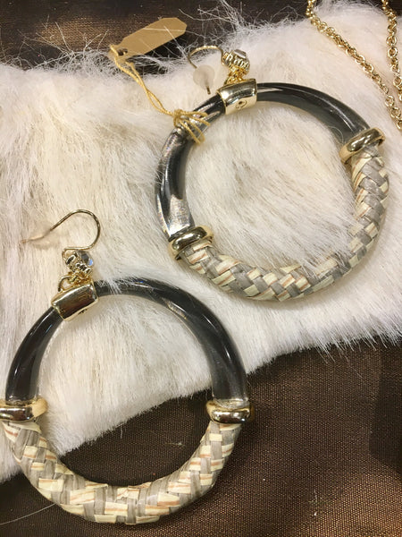 Lucite Alexis Bittar Earrings