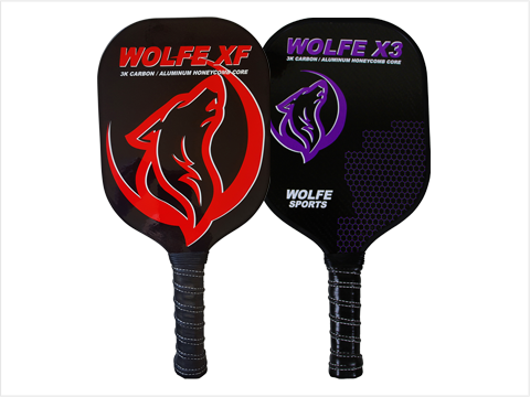 Wolfe XF - Edgeless Paddle - 3K Carbon Fiber and Graphite