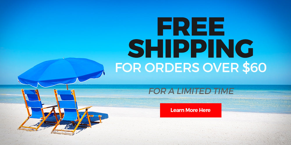 free shipping for orders over $60
