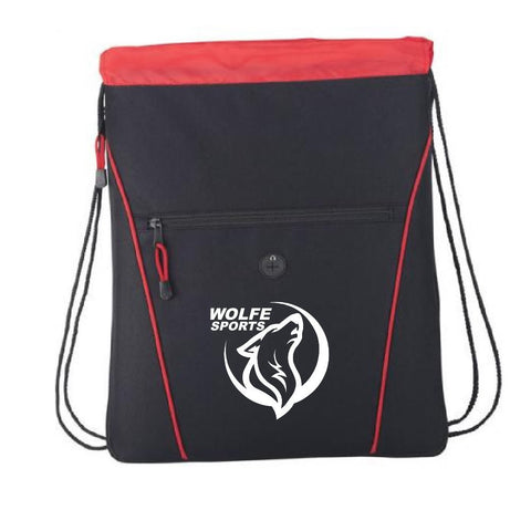 Wolfe Drawstring Backpack
