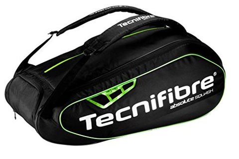 Tecnifibre Absolute Green 9 Racquet Squash Bag
