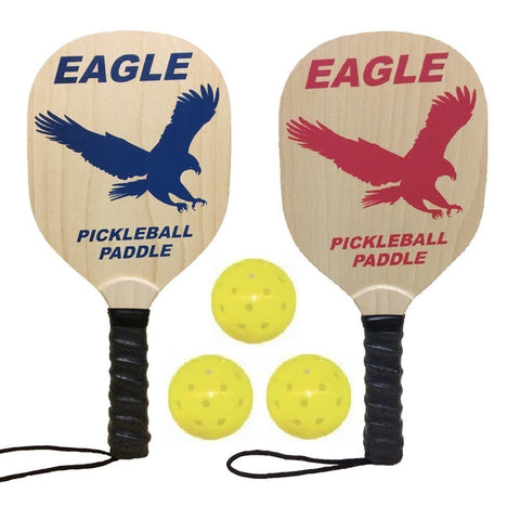 Wolfe Eagle Wood Pickleball Paddle Set